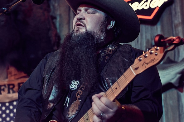 "Sundance Head, winner of ""The Voice"" singing contest on NBC-TV, aims to give Airmen and their families ""one of the best concerts they've ever seen"" during his tour of 10 U.S. Air Force bases. (Meredith Truax courtesy photo)"