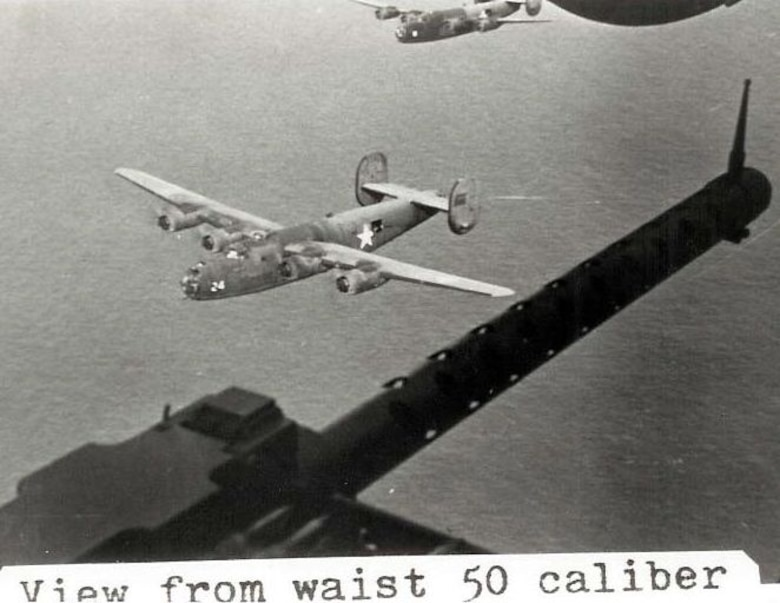 "The Halpro unit was originally equipped with 23 B-24D bombers.  This is one of them, B-24D serial number 41-11636, Halpro#24, nicknamed ""Wash's Tub.""  Although it did not participate in the first Ploiesti mission of June 12, 1942, this aircraft was later assigned to the 376th Bomb Group and did fly on and survive the famous low-level attack on Ploiesti carried out on August 1, 1943. In 15 months in the Middle East it flew 73 missions, with 551 combat hours, flying over 100,000 miles and delivering 219 tons of ordnance against enemy targets and claims of 22 enemy aircraft. The aircraft returned to the States in September, 1943, as war weary and for a War Bond tour before being scrapped in Spokane, WA in October, 1944. (Courtesy 376th HBG Veterans Association)"
