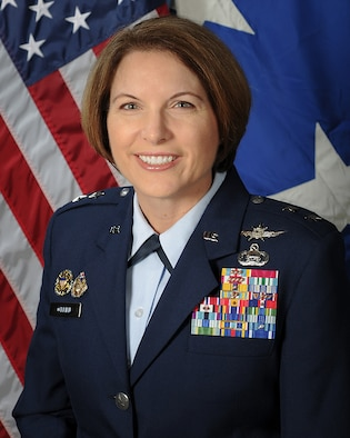 Maj Gen Mary O'Brien official photo