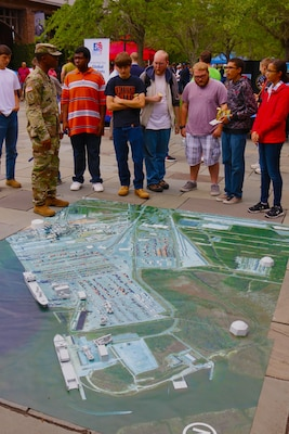 The Charleston District participated in the 3rd Annual FEA Exhibition, where 25 federal agencies in Charleston gathered at Liberty Square to show members of the public what it is they do for the community.