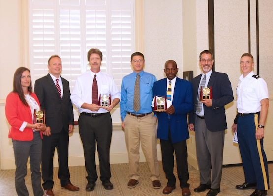 The Charleston District won four awards at the annual FEA Employee of the Year Luncheon awards.