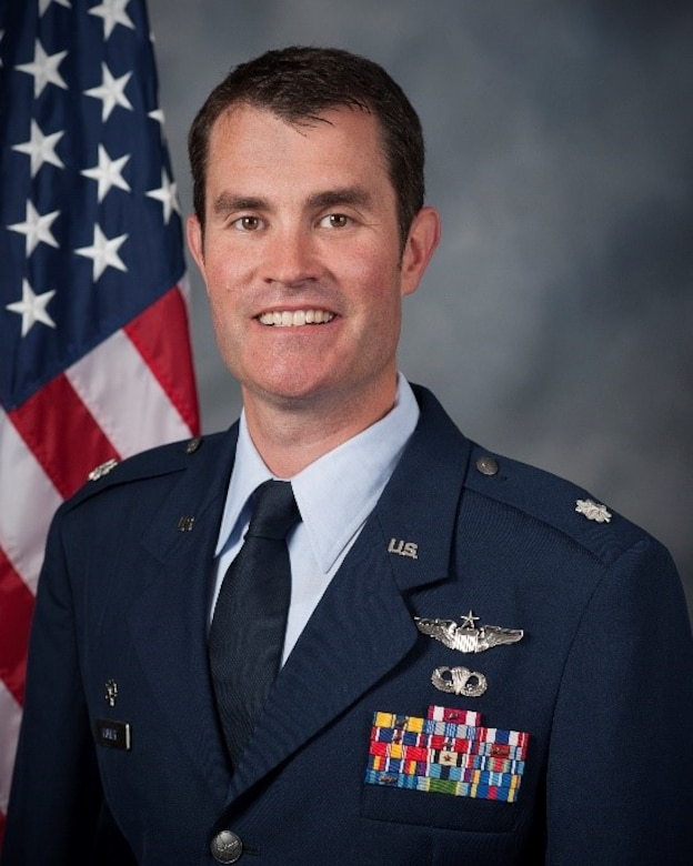 Lt. Col. Robert Rayner, 921st Contingency Response Squadron, shares some thoughts on leadership. (U.S. Air Force Courtesy Photo)