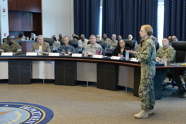 During the June Battle Assembly about 65 Defense Logistics Agency Joint Reserve Force members attended the Combined Drill Weekend event June 9-11 at the McNamara Headquarters Complex, Fort Belvoir, Va.