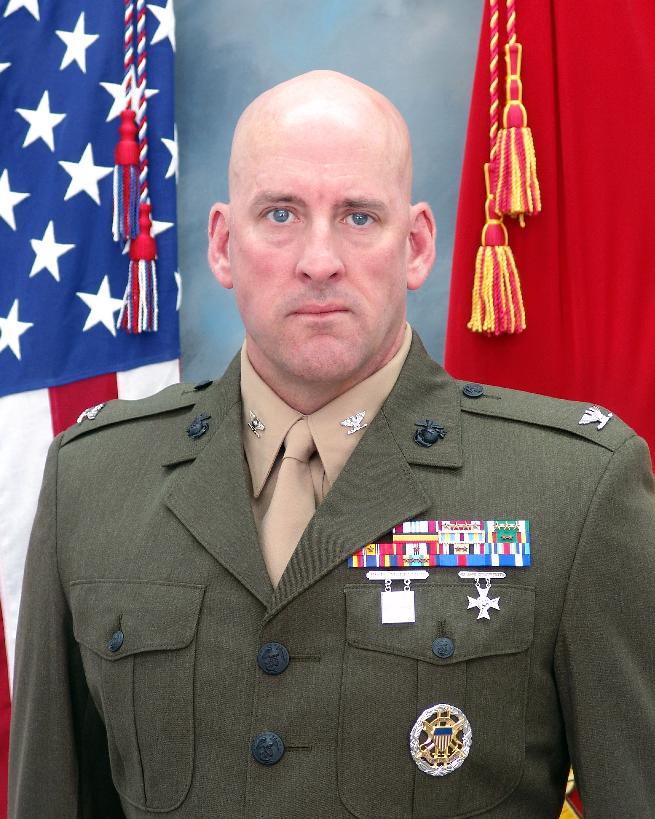 Lieutenant Colonel Phil Brook