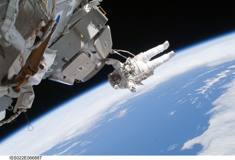 Performing a spacewalk is one of the many things that Army Maj. (Dr.) Francisco Rubio will train on over the next two years on his way to becoming an astronaut. NASA photo