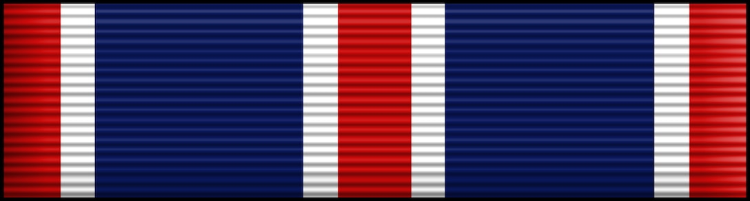 The United States Air Force Outstanding Unit Award Ribbon. The Outstanding Unit Award is awarded to any unit of the U.S. Air Force which performs exceptionally meritorious service, accomplishes specific acts of outstanding achievement, excels in combat operations against an armed enemy of the United States, or conducts with distinct military operations involving conflict with, or exposure to, a hostile action by any opposing foreign force.