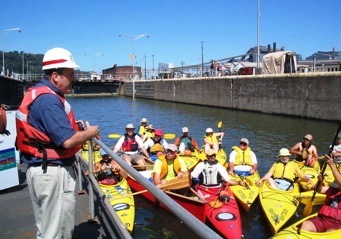 The U.S. Army Corps of Engineers Pittsburgh District announces two water safety events -- the Fixed Crest Dam Safety Summit and the Paddle Safety Lock Through. These events are designed to promote fixed-crest dam safety and safe navigation of the waterways by recreational users.