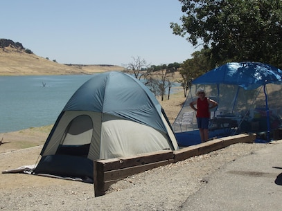 A campsite with a view awaits you at Black Butte Lake.
