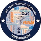 The U.S. Army Medical Command Ombudsman Program has been helping service members and their families navigate through their medical needs after being wounded, ill or injured. Starting in the U.S. Navy as a role filled by military spouses, MEDCOM ombudsmen have transitioned into a vital resource on installations by looking out for the morale and welfare of military families. (U.S. Air Force graphic/Airman 1st Class Kaylee Dubois)