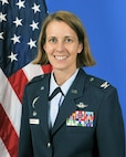 Col. Jennie R. Johnson, 403rd Wing commander, poses for an official photo at Keesler Air Force Base, Mississippi. (U.S. Air Force photo)