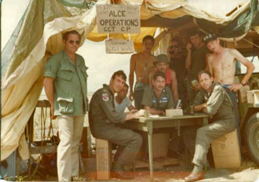 In an operation that began on November 18, 1978, the 31st Aeromedical Evacuation Squadron participated in the treatment and evacuation of personnel from Georgetown, Guyana. These survivors were victims of a mass suicide that had occurred at Jonestown, Guyana on the same date. (Air Force File Photo)