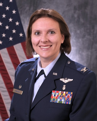 Official photo of Colonel Leigh A. Swanson (Dr.)