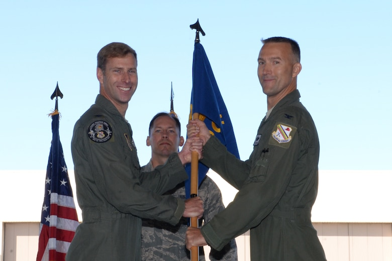 "Eielson's 354th Operations Group (OG) held their change of command ceremony June 26, 2017, at Eielson Air Force Base, Alaska. Col. Brian ""Burnt"" Toth, the 354th OG commander, relinquished his command to Col. Jacob ""Snake"" Trigler, the new 354th OG commander. Toth will be retiring from the Air Force, and his absence will be felt not only across the 354th Fighter Wing, but across the Air Force. (U.S. Air Force photo by Airman 1st Class Cassandra Whitman)"
