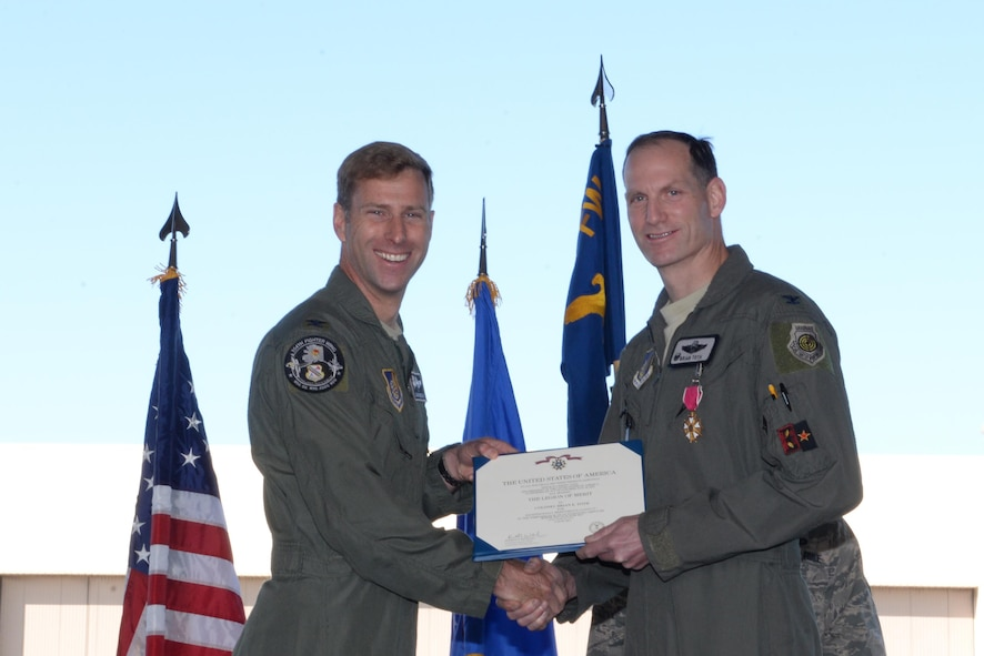 """Eielson's 354th Operations Group (OG) held their change of command ceremony June 26, 2017, at Eielson Air Force Base, Alaska. Col. Brian """"Burnt"""" Toth, the 354th OG commander, relinquished his command to Col. Jacob """"Snake"""" Trigler, the new 354th OG commander. Toth will be retiring from the Air Force, and his absence will be felt not only across the 354th Fighter Wing, but across the Air Force. (U.S. Air Force photo by Airman 1st Class Cassandra Whitman)"""