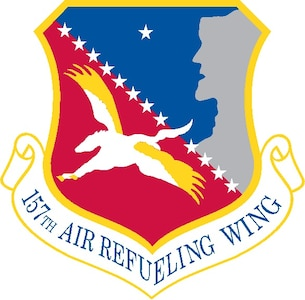 Official heraldy of the 157th Air Refueling Wing