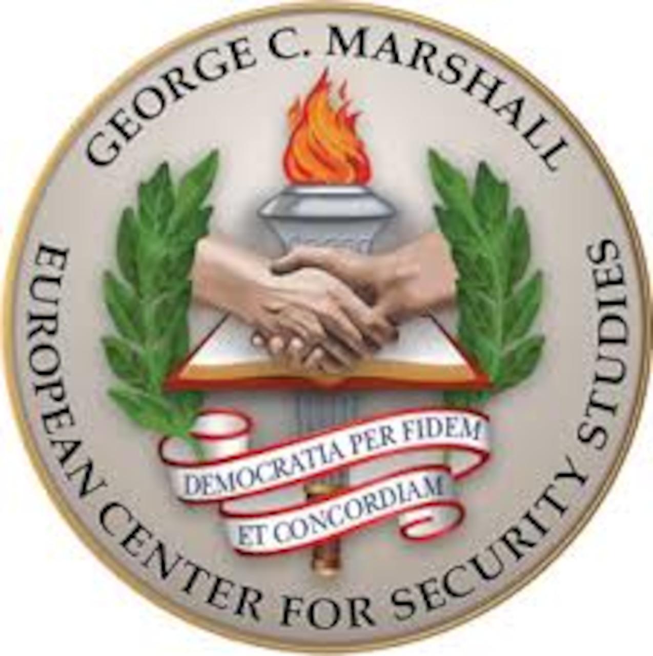 Marshall Center Seal. DoD graphic