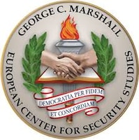 Marshall Center Seal. DoD graphic