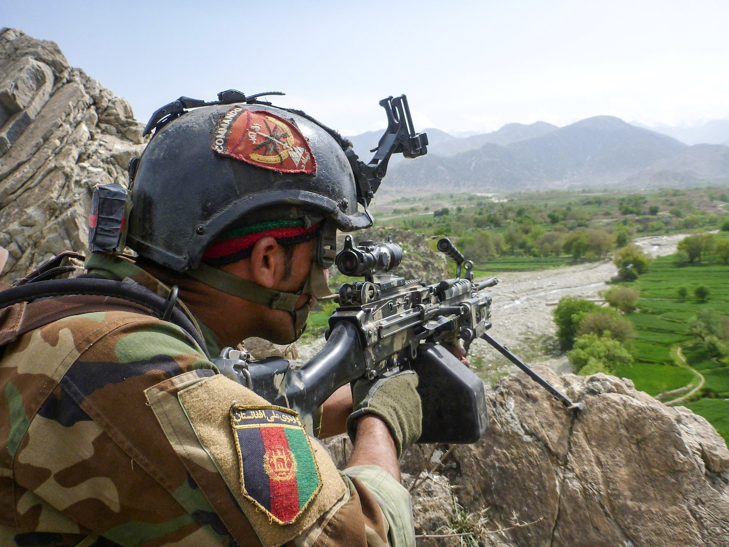 In the last 24 hours Afghan Special Security Forces killed twelve Daesh fighters in Nangarhar, and a Taliban commander in Shahid-E Hasa, Uruzgan.  In addition, they also arrested one Haqqani insurgent in Paghman, Kabul. ASSF continues to disrupt and degrade insurgent operations, diminishing their freedom-of-movement and improving security for  the citizens of Afghanistan.