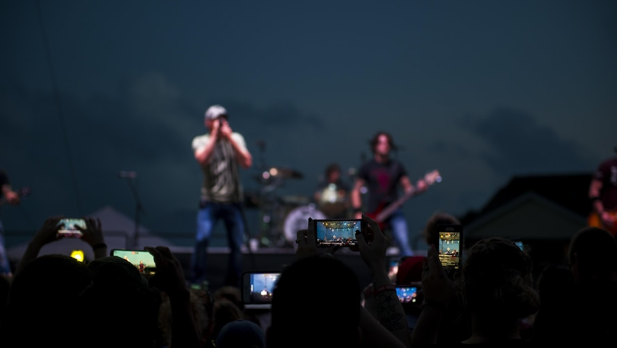Rock Band 3 Doors Down performs for Air Commandos during Freedom Fest at Hurlburt Field, Fla., June 27, 2017. Events like Freedom Fest are designed to build resilience at Hurlburt Field, the most deployed base in the Air Force, by focusing on family and friends while celebrating our nation's independence.