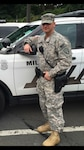 New York Army National Guard Sgt. Joseph Selchick, a military police soldier with the National Guard's 727th Military Police Law and Order Detachment, applied his military skills and experience to graduate from the Rockland County Police and Public Safety Academy in Pomona, N.Y., June 23, 2017. Selchick credits his military service for providing a foundation of experience for his success at the academy. New York Army National Guard by Col. Richard Goldenberg