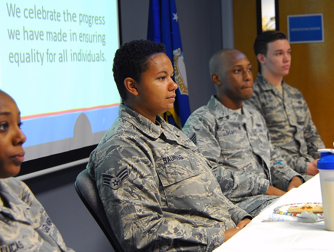 June is the LGBT pride month.