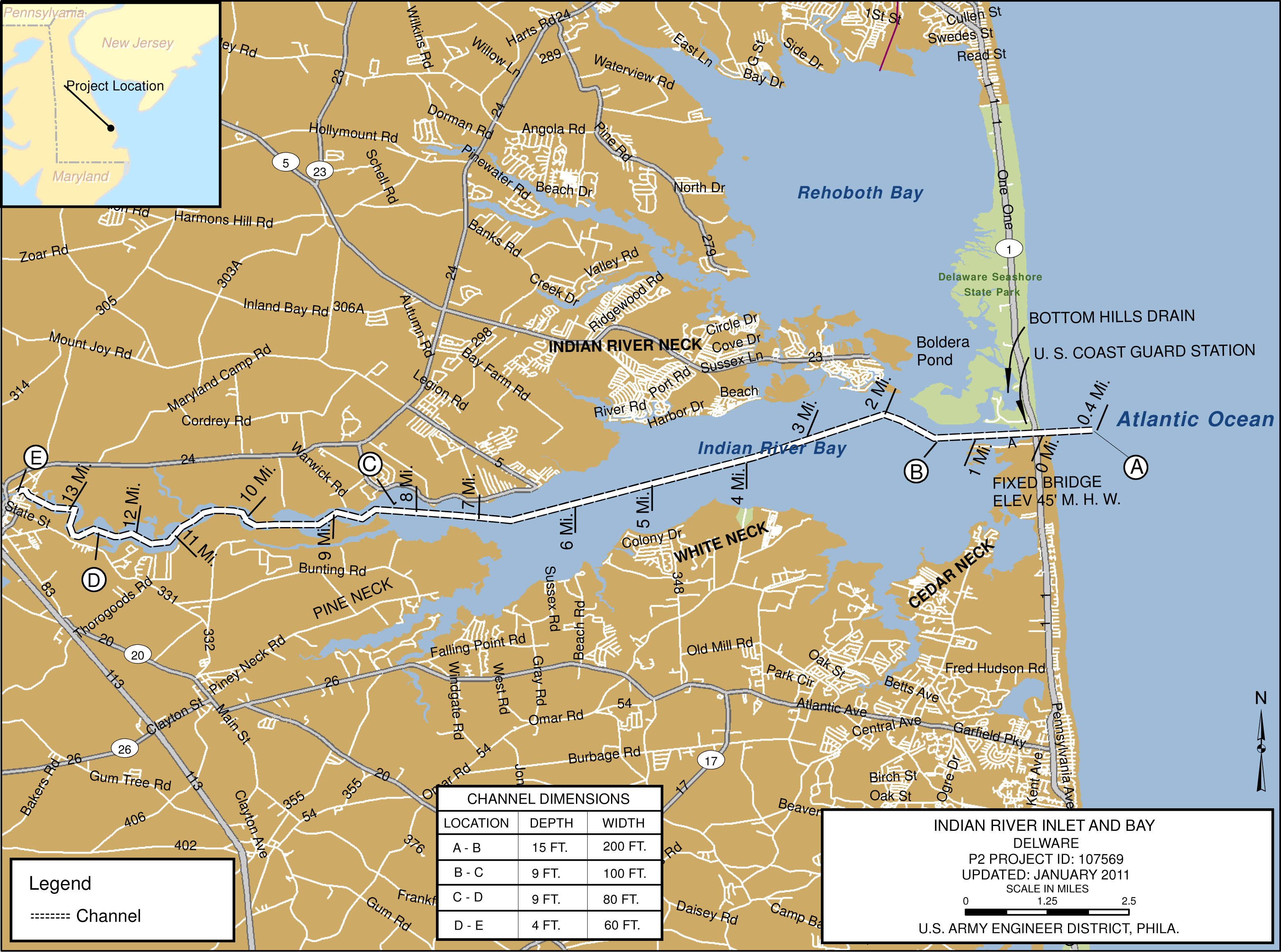 Indian River Inlet Bay Philadelphia District Marine Design Center Fact Sheet Article View