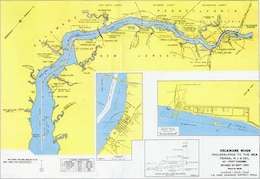 Delaware River, Philly to Sea Project Index Map