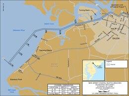 Salem River Project Index Map