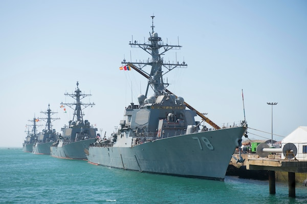porter completes navy s first sia in rota spain naval sea systems