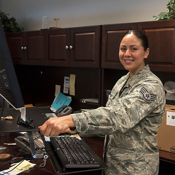 "PETERSON AIR FORCE BASE, Colo. - ""I'll be joining friends from my Airmen Leadership Class for lots of American, Spanish and Japanese food at a cook out,"" said Staff Sgt. Andrea Londoño, 21st Space Wing command section executive administrator, at Peterson Air Force Base, Colo., June 28, 2017. (U.S. Air Force photo by Steve Kotecki)"