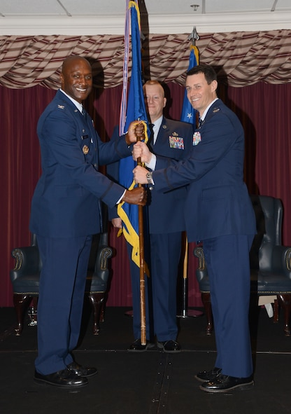 72nd Air Base Wing Commander Col. Kenyon Bell presided over the 72nd Mission Support Group Change of Command Ceremony June 14, in which Col. Mark Vitantonio assumed command from outgoing commander Col. Michael Green. Col. Vitantonio will lead nearly 1,500 military, civilian and contract personnel who provide customer service and support, including base security and law enforcement, logistics, supply, transportation, readiness planning, military personnel, education and training, family support and professional military education for 82, 500 employees, family members and retirees.