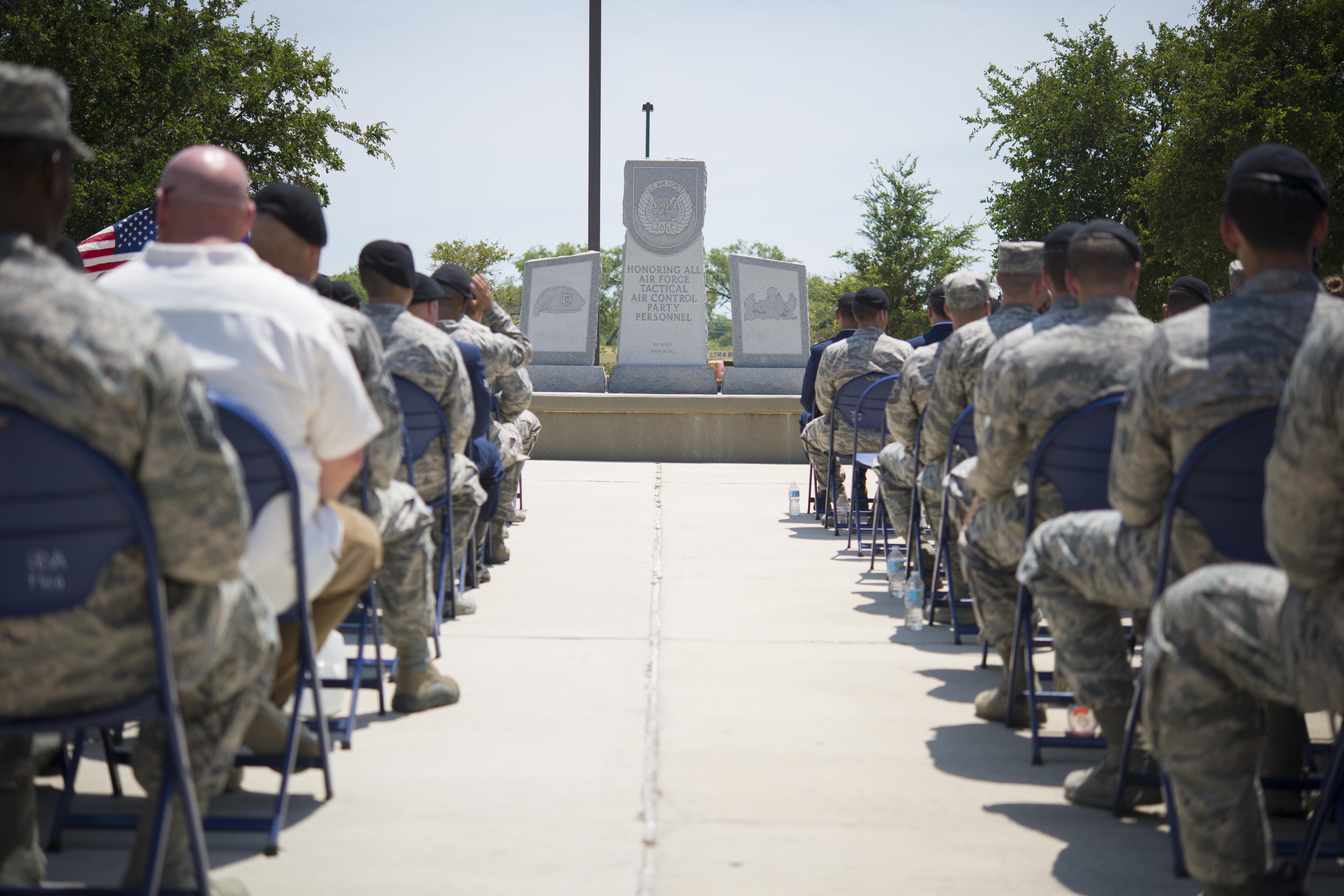 Tactical Air Control Party memorial honors fallen Airmen