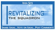 Air Force officials have posted a new set of topics (in the form of challenges) on the Revitalizing Air Force Squadrons crowdsourcing/idea website after closing out the first set of challenges June 19, 2017.