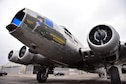 DAYTON, Ohio (02/2017) -- Restoration crews cleaned the Boeing B-17F Memphis Belle, and moved it to another hangar with additional space on Feb. 22, 2017 at the National Museum of the United States Air Force. (U.S. Air Force photo by Ken LaRock)