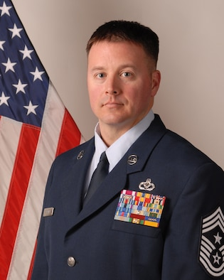 Command Chief Master Sgt. Trever Slater Official Biography