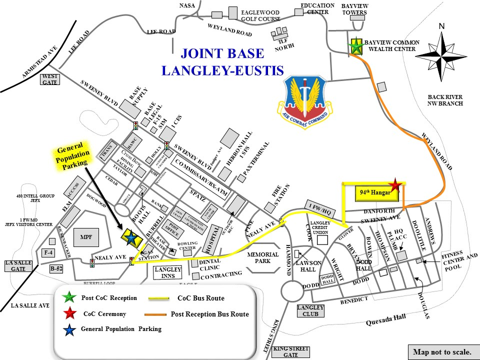 Image result for langley afb offices map