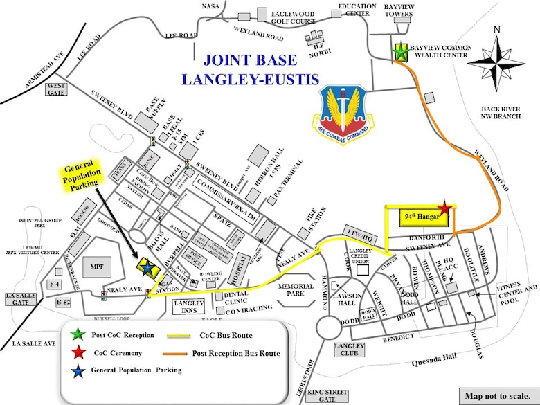 """Langley Afb Map Team Langley ACC CoC map > Joint Base Langley Eustis > Article Display"""" title=""""Langley Afb Map Team Langley ACC CoC map > Joint Base Langley Eustis > Article Display"""" width=""""200″ height=""""200″><br /> <P align=left> HAMPTON, Va. (WAVY) — Two pit bulls allegedly attacked a man and his golden retriever last week at Bethel Manor Park on Langley Air Force Base. Nearly every morning for the past three years, Ronald   What is the best price for a return flight from Bridgetown to Newport News Langley AFB? The best price found on Skyscanner for a flight from Bridgetown to Newport News Langley AFB is . This was found   Osborne arrived at Langley nearly two years ago from Mountain Home Air Force Base in Idaho, southeast of Boise  With that data, they created a topographic map. Now when they add tide gauge<br /> <P align=center><br /> <img src="""