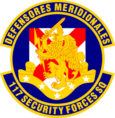 117 Security Forces Squadron patch