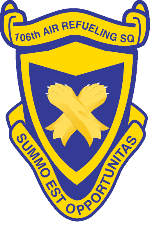 106th Air Refueling Squadron patch