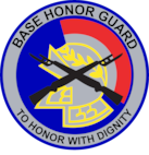 117 Base Honor Guard patch