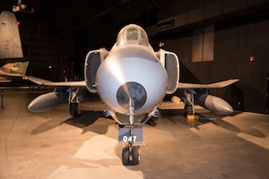 DAYTON, Ohio -- McDonnell Douglas RF-4C Phantom II in the Cold War Gallery at the National Museum of the United States Air Force. (U.S. Air Force photo by Ken LaRock)