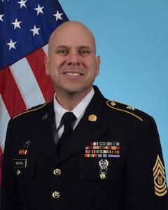 Command Sergeant Major Marcus F. Montoya