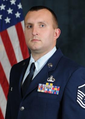 Master Sgt. James Burke, CONR-1AF C2 Warrior of the Year (Enlisted)