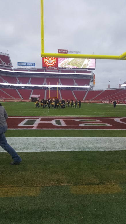 Courtesy photo by Airman Breanna Crisp of the 152nd Maintenance Squadron -- taken while at San Francisco 49ers game on Jan. 1, 2017.