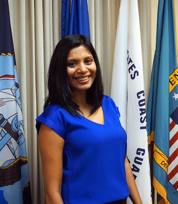 Esther Almas is one of two the sexual assault response coordinators at DLA Distribution and works to help ensure employees have a safe work environment that is free of sexual assault.