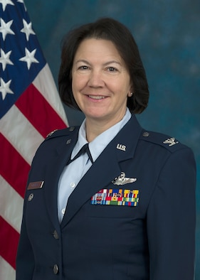 315th Airlift Wing Vice Commander, Col. Jeanine M. McAnaney. (U.S. Air Force Photo by Michael Dukes)