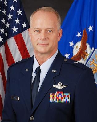 Brig. Gen. Steven B. Parker official bio photo