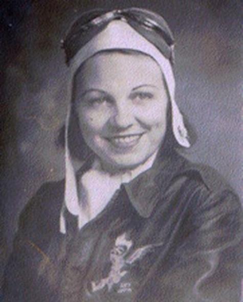 Lt. Mary Helen Gosnell, Women's Airforce Service Pilot, c. 1944 (Courtesy photo)