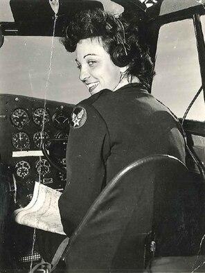 Lt. Mary Helen Gosnell, Women's Airforce Service pilot, c. 1944. (Courtesy photo)