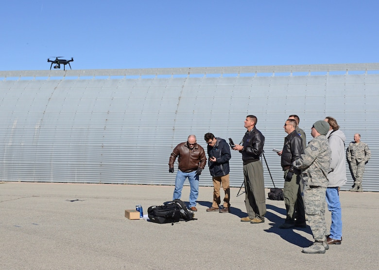 AF uses first drone for C-17 post flight inspection > U S  Air Force